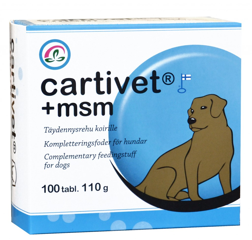 Cartivet+msm 100 tab.