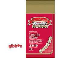 Pro Gold lamm & Ris 23/10 15kg