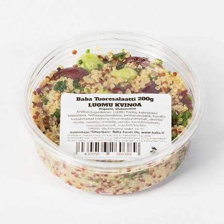 Baba Luomu Kvinoasalaatti  200 g