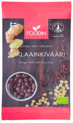 Foodin RAAKASUKLAAINKIVÄÄRI, LUOMU, RAAKA, 70 G