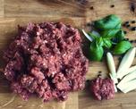 Valkohäntäpeuran jauheliha, n. 0,5 kg (19,85 €/kg) tuore/pakaste