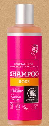 URTEKRAM - Shampoo, ruusu 250ml