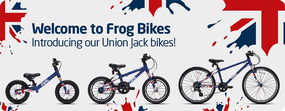 Frog ikes Union Jack