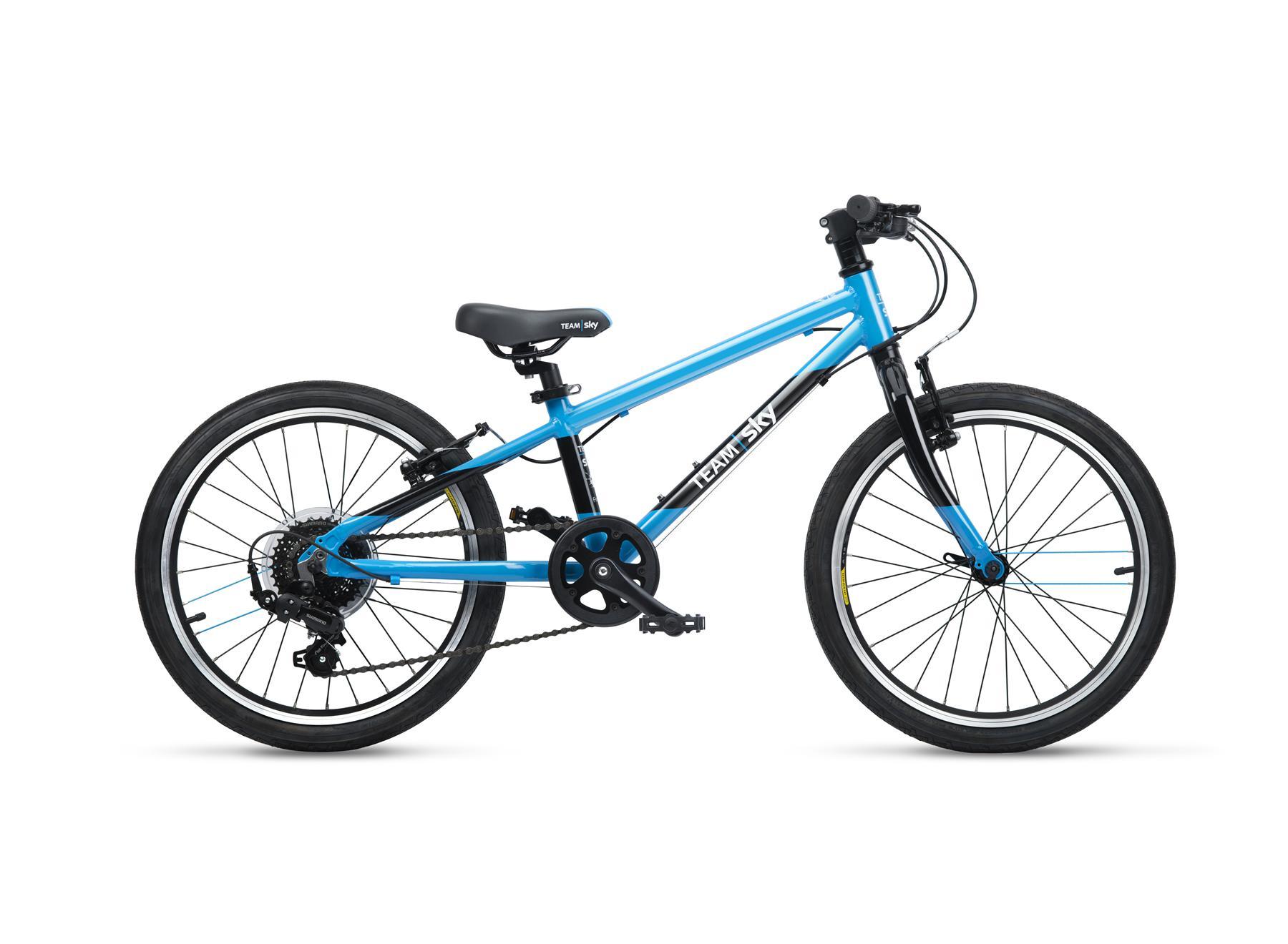 Frog Bikes 55 lastenpyörä 20- rengas. 8-vaihdetta.
