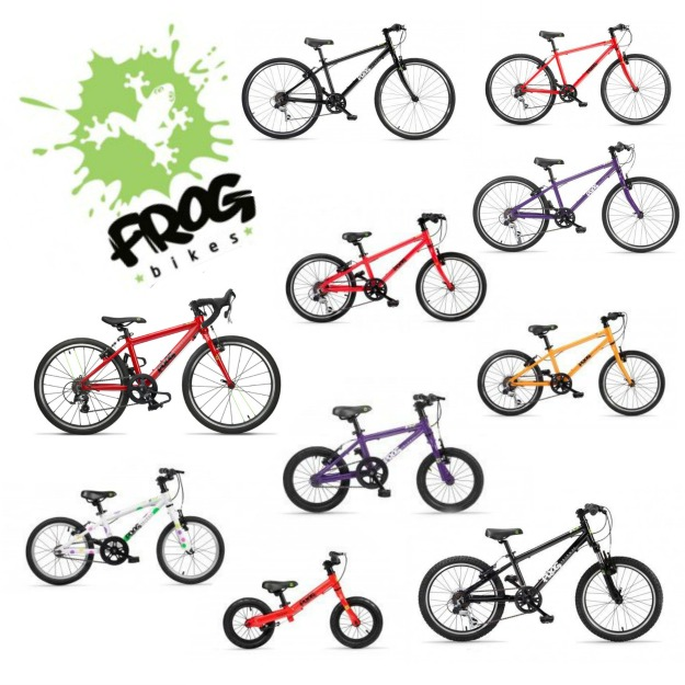 Frog Bikes värit