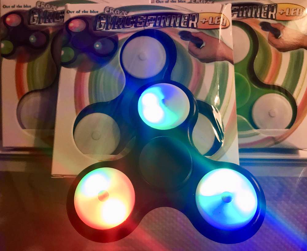 GYRO SPINNER LED