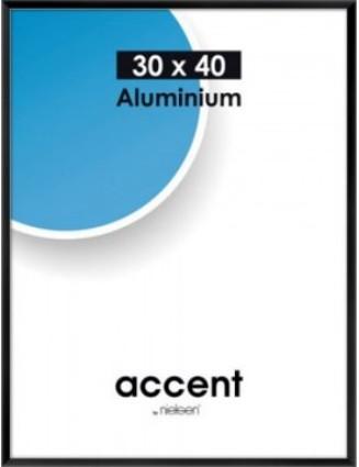 Accent kehys 24x30 cm matta hopea