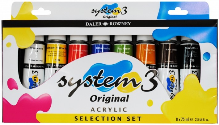 System3 Selection Set 8x75