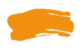 System3 akryyliväri 500ml, 653 Fluorescent Orange