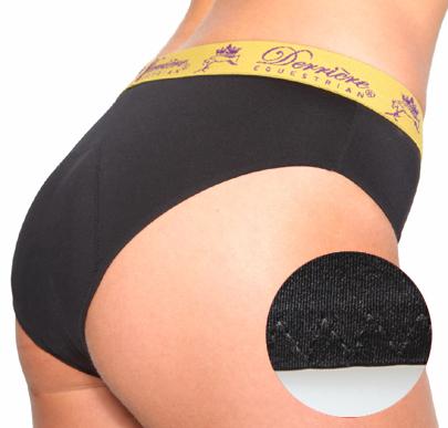 DE Padded Panty musta