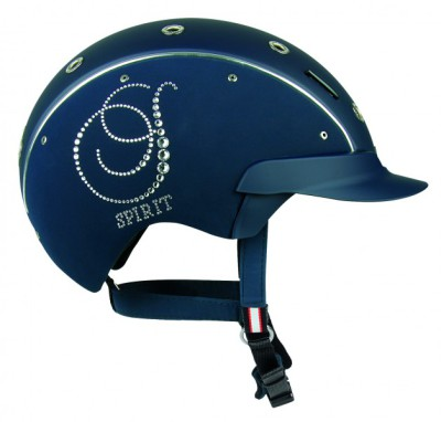 Casco Spirit Crystal Navy.