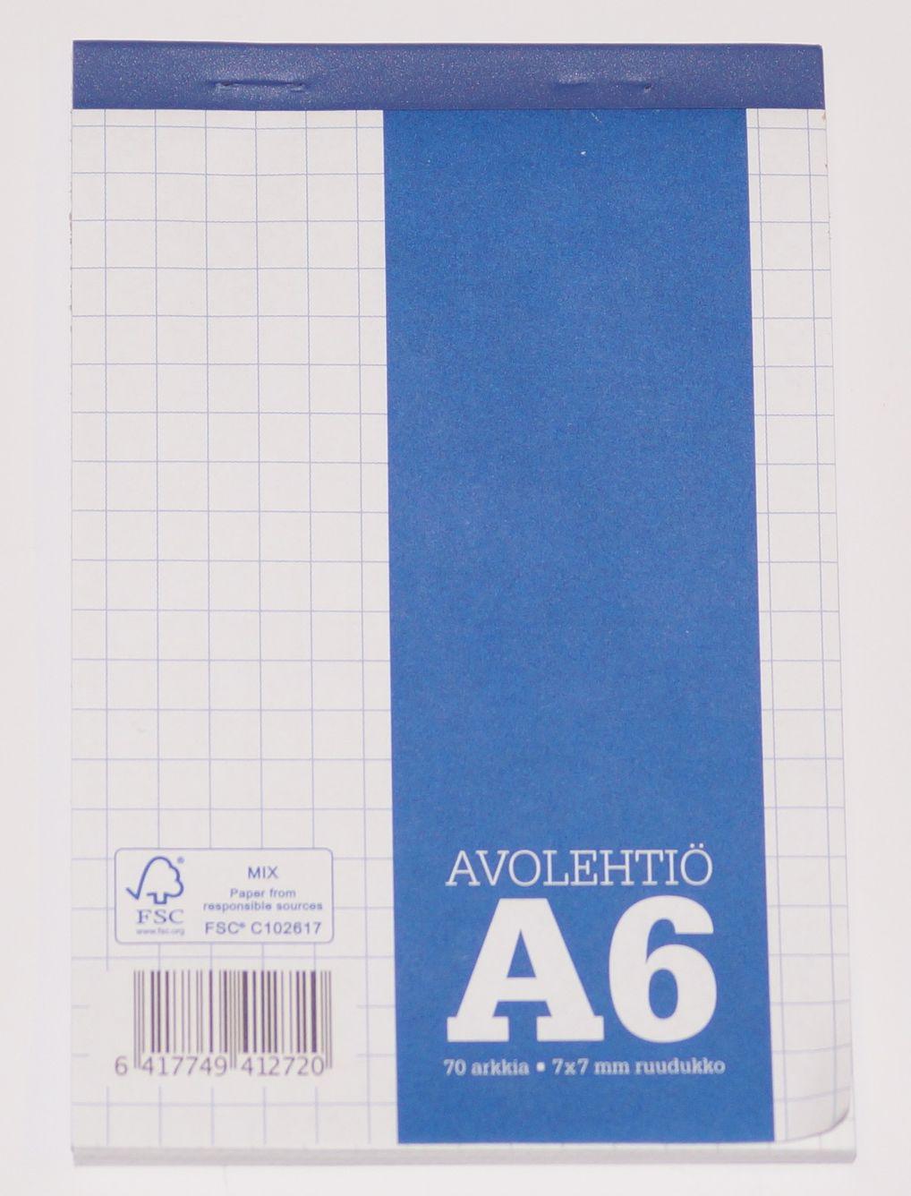 Avolehtiö A6/70