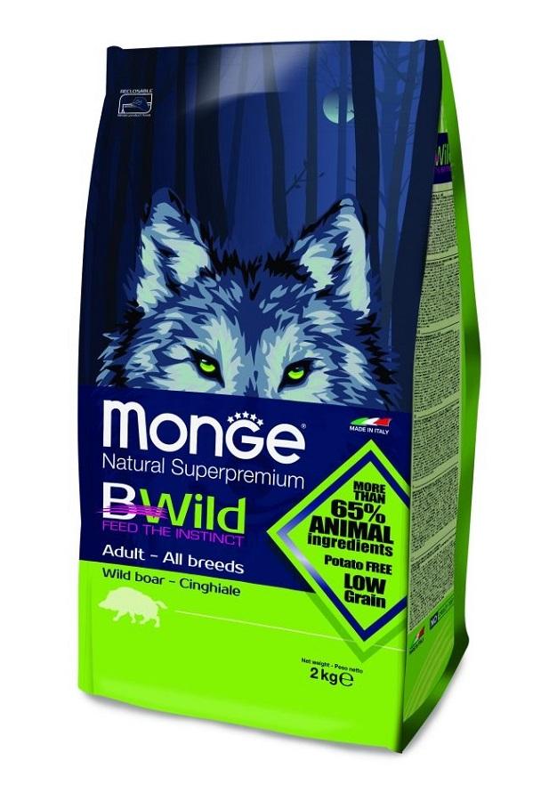 Monge B-Wild Villisika 2kg, PE 09/19