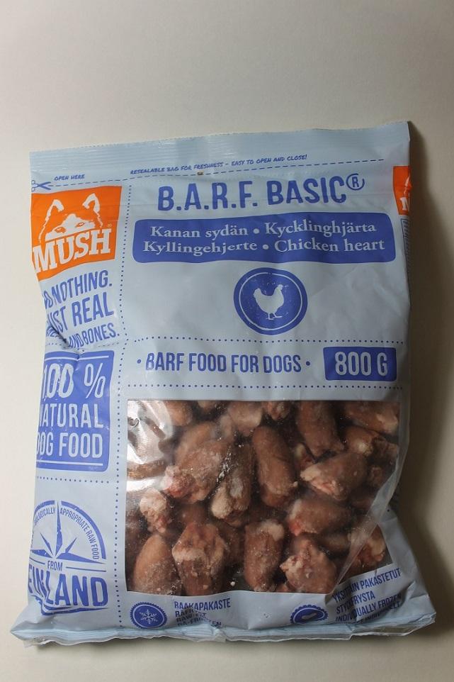 Kanan sydän 0,8kg MUSH BASIC