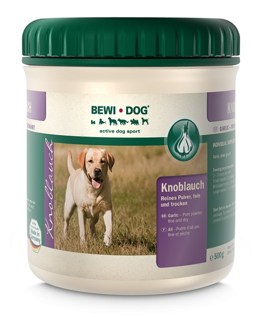 Bewi Dog Valkosipulijauhe 0,5kg -- Parasta ennen 10/18!!