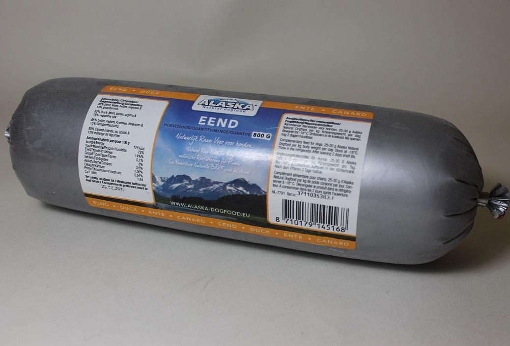 Ankka  jauhettu 800g Alaska (Hollanti)