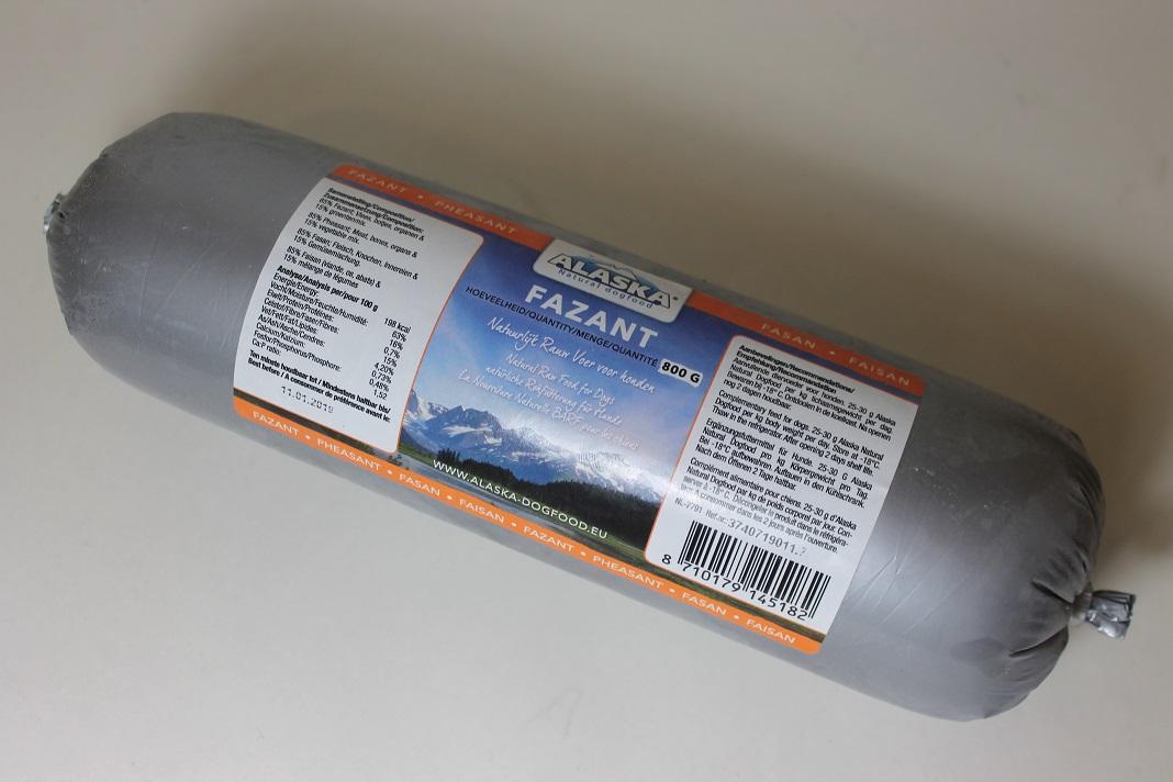 Fasaani jauhettu 800g Alaska (Hollanti)