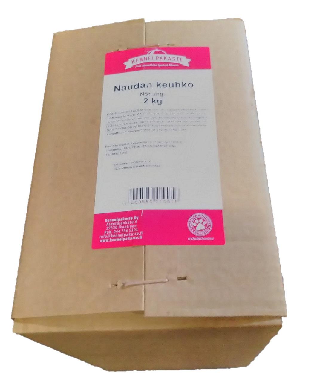 Kuivattu Naudan keuhko 2kg Kennelpakaste, PE 12.09.19