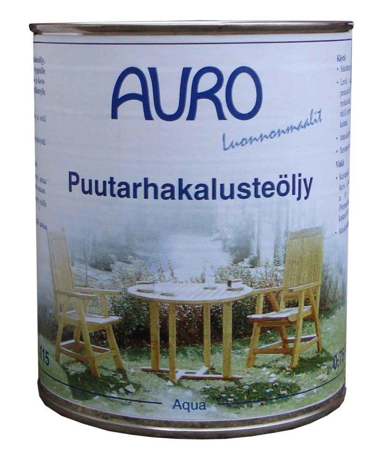 Auro Puutarhakalusteöljy 0,75l