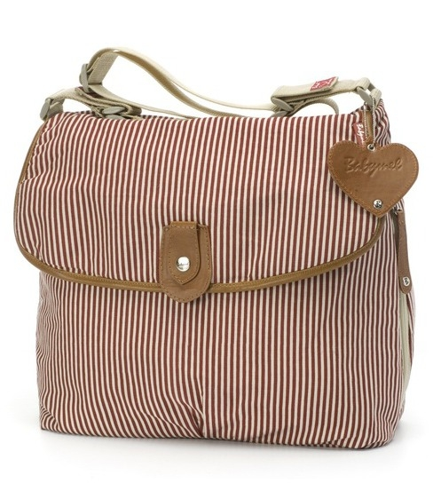 Babymel Hoitolaukku | Satchel Red Stripe