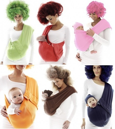Vauvan Kantopussi Wallaboo Baby Sling - Eri Värit