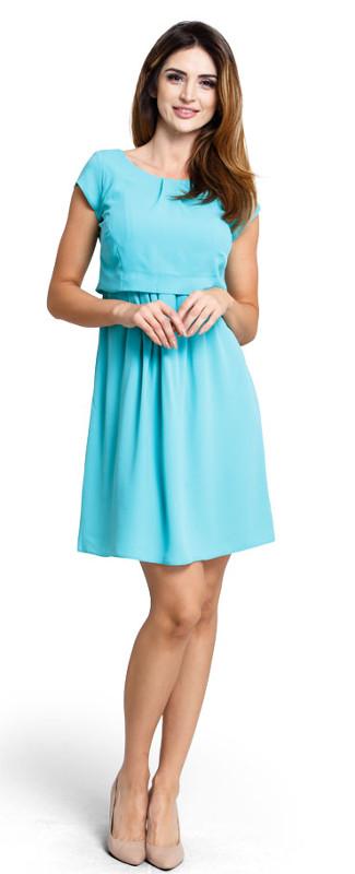 Äitiys-Imetysjuhlamekko Happymum Candy Turquoise