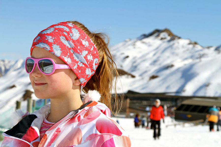 Lasten aurinkolasit pinkki Babiators
