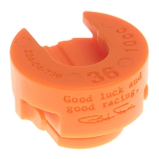 Fox Float 36 volume spacer (oranssi)