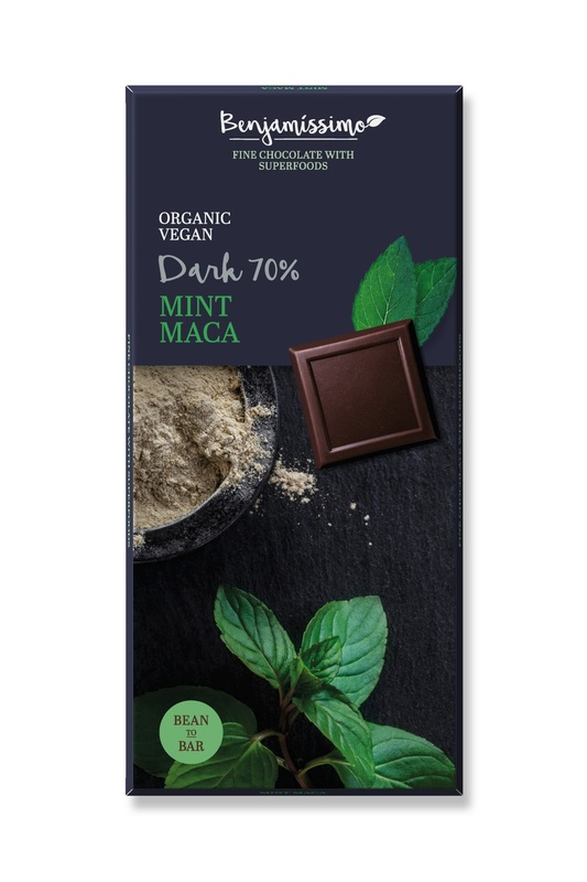 Benjamissimo Dark 70% Mint Maca 70g