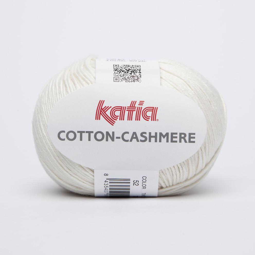 Katia Cotton-Cashmere Valkoinen