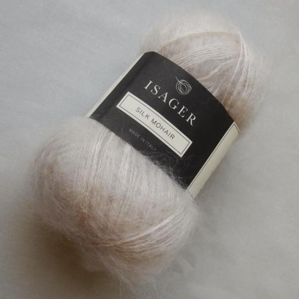 Silk Mohair (00) Luonnonvaalea
