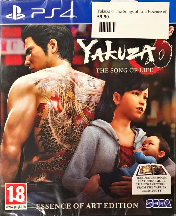 Yakuza 6 The Songs of Life Essence of Art Version