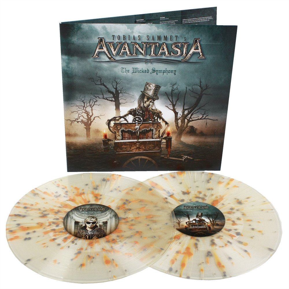 Avantasia - The wicked symphony 2LP clear/orange/grey splatter