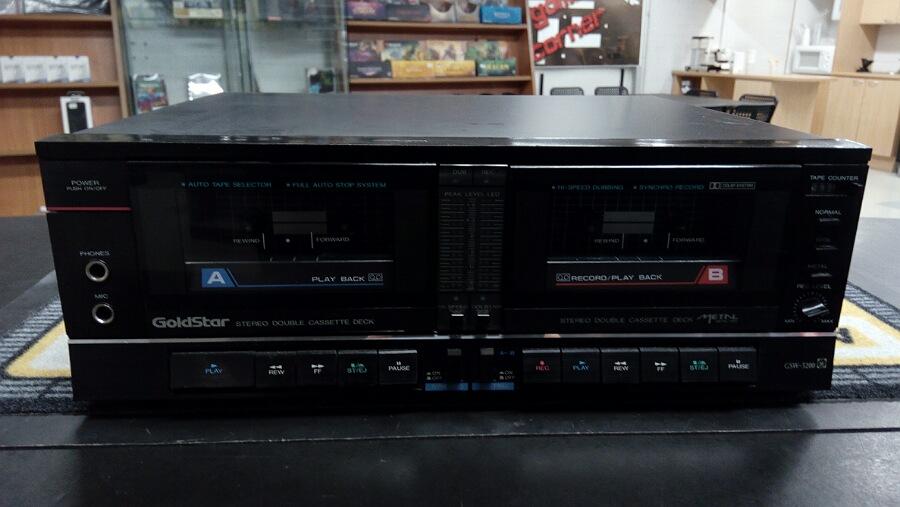GoldStar GSW-5200 Kasettidekki