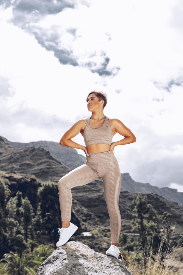 Elevate Leggings Beige