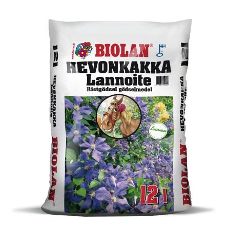 BIOLAN HEVONKAKKA LANNOITE 10L