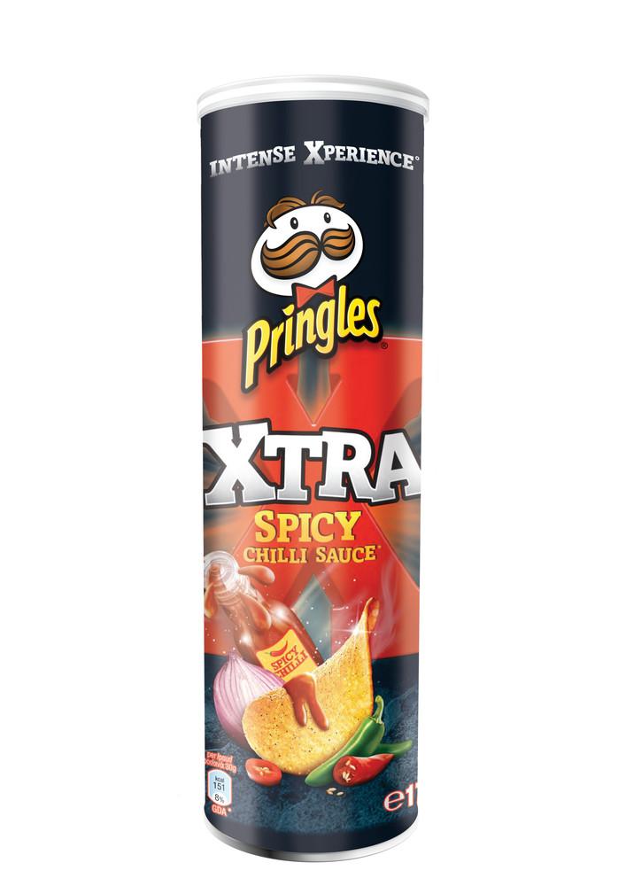 PRINGLES XTRA SPICY 175G
