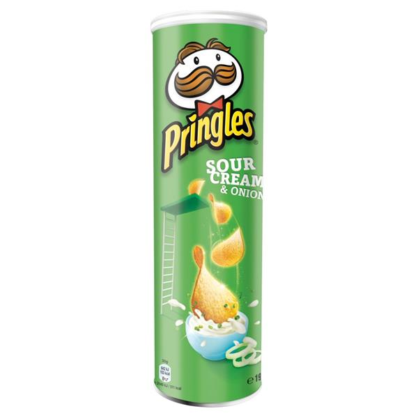 PRINGLES SOUR CREAM & ONION 200G