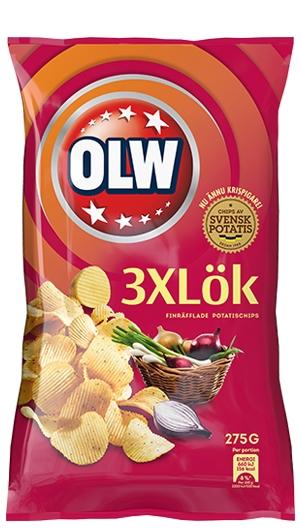 OLW CHIPS 3XLÖK 175G