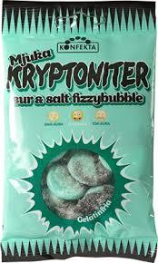 KONFEKTA KRYPTONITER SUR & SALT FIZZYBUBBLE MJUKA 60G