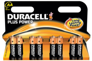 DURACELL PLUS POWER PARISTO AA 8 KPL