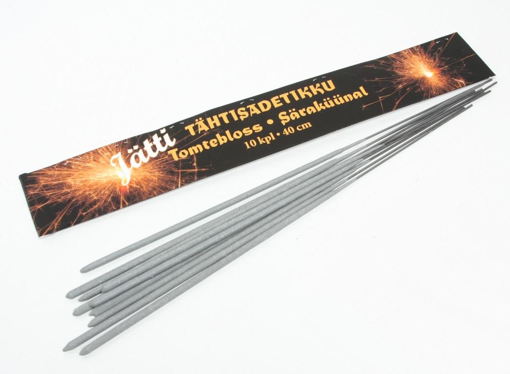 TÄHTISADETIKKU SUPER 40CM 10  KPL