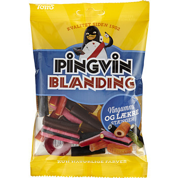 PINGVIN BLANDNING VIINIKUMI & LAKSRITSI 130 G