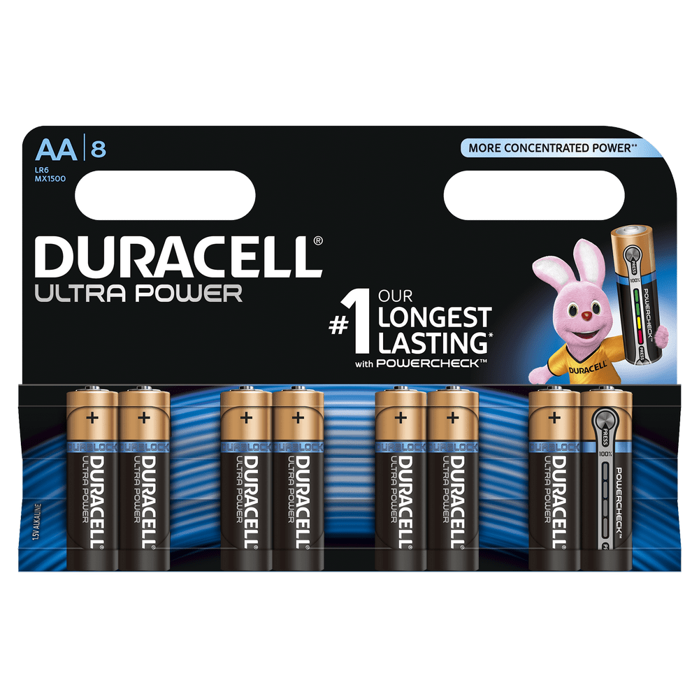 DURACELL ULTRA POWER PARISTO AA 8-PACK