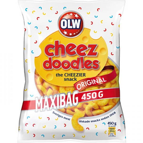 OLW CHEEZ DOODLES MAXIBAG 450G