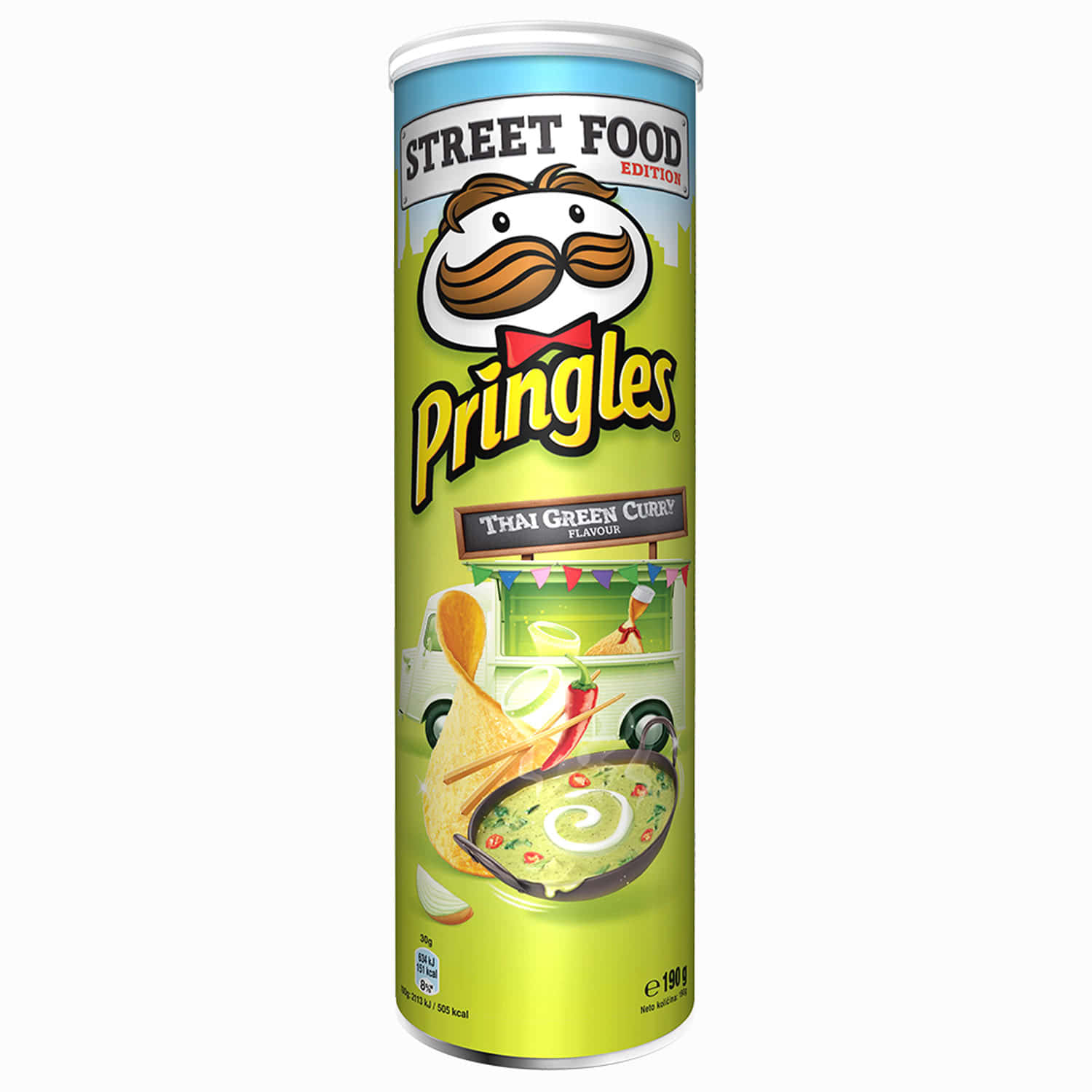 PRINGLES THAI GREEN CURRY 190G