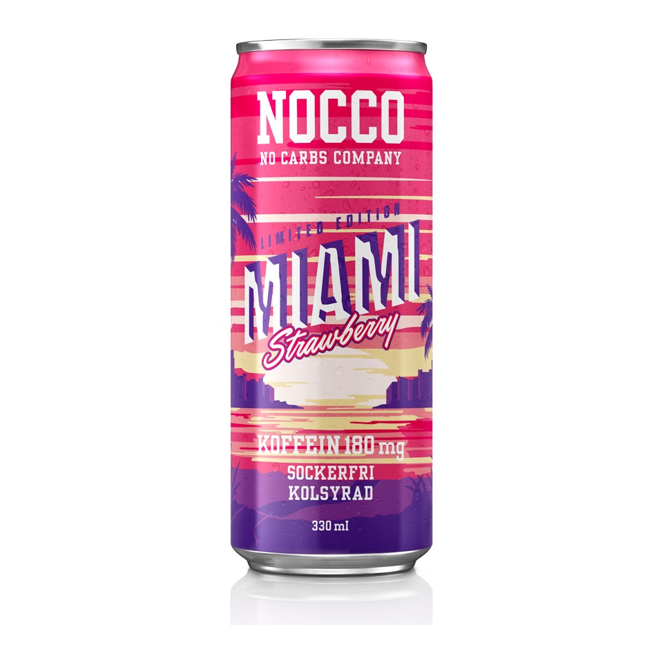 NOCCO MIAMI STRAWBERRY 330ML