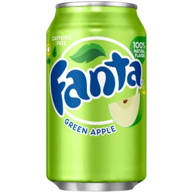FANTA USA GREEN APPLE 0,355ML